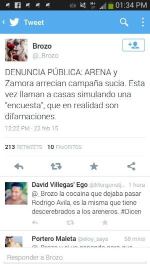 Twit de Brozo