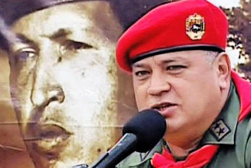 Cabello, dirigente de la fracción militar del chavismo