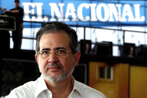 Miguel Henrique Otero, director de El Nacional
