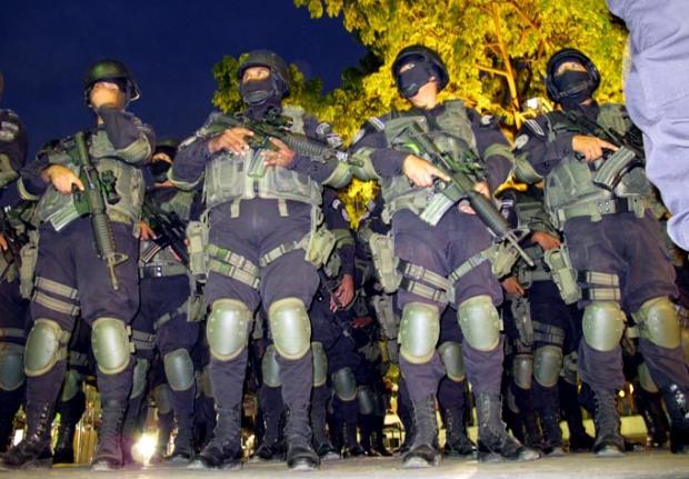 La nueva unidad anti pandillas de la PNC