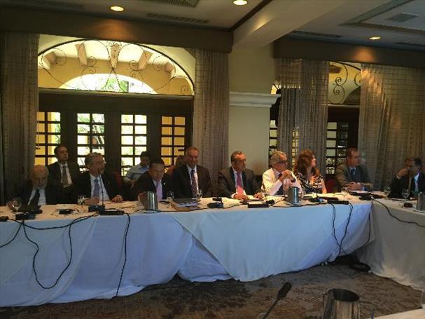 Presidentes y magistrados de tribunales constitucionales reunidos en Costa Rica