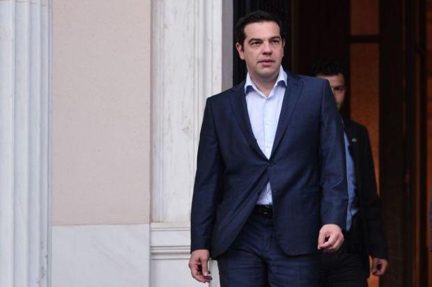 El primer ministro griego, Alexis Tsipras, en Atenas. AFP
