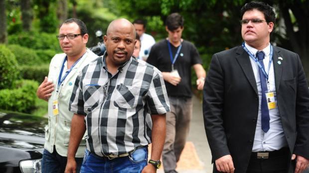 """Delegados cubanos en la VIII Conferencia Ministerial Comunidad de las Democracias, """"Democracia y Desarrollo""""."""