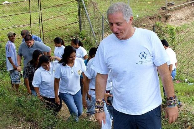 Alejandro Gutman, presidente de la oenegé Forever. Foto Roberto Valencia.