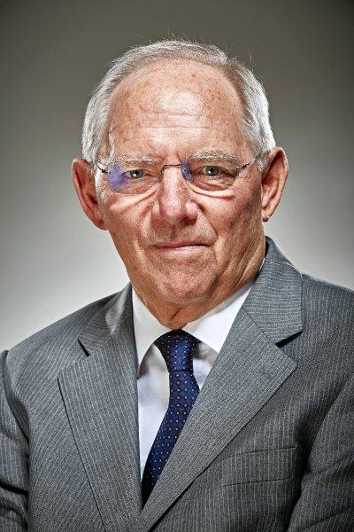 Wolfgang Schäuble, ministro de finanzas de Alemenia