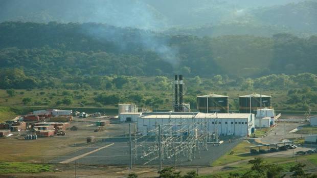 La termoeléctrica de Talnique, operada por INE