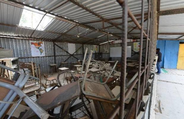 Muchas de las escuelas públicas del país necesitan material didáctico, mobiliario nuevo y rehabilitar edificios.