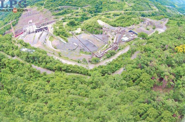 Obras sin avances. Foto aérea de la zona de construcción de El Chaparral, que está estancada desde 2010 y ha estado rodeada de polémica.