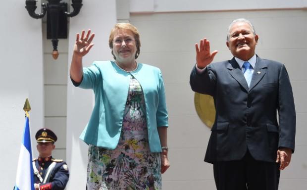 MICHELLE BACHELET  de visita en El Salvador