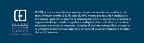 centro estudios juridicos CEJ