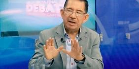 Eugenio Chicas, ex presidente del Tribunal Electoral, actualmente secreteraio de comunicación de la Presidencia