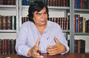 Luis Monterrosa, director del Instituto de Derechos Humanos de la UCA