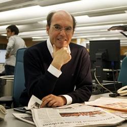 Luis Prados, responsable de las ediciones de EL PAÍS en América