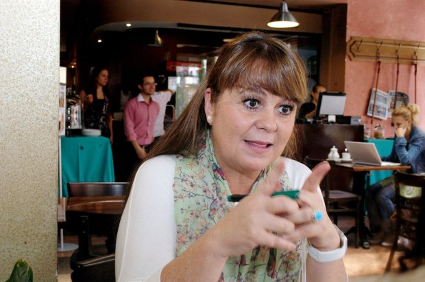 Anabella Giracca, columnista y novelista guatemalteca