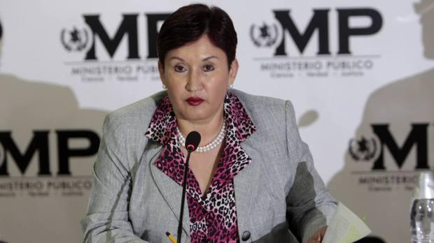 La fiscal general de Guatemala, Thelma Aldana, señaló que el aporte de los medios ha sido importante en las investigaciones contra la corrupción