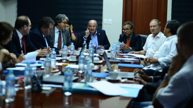 Reunión de la Interpartidaria, 28 de septiembre 2015