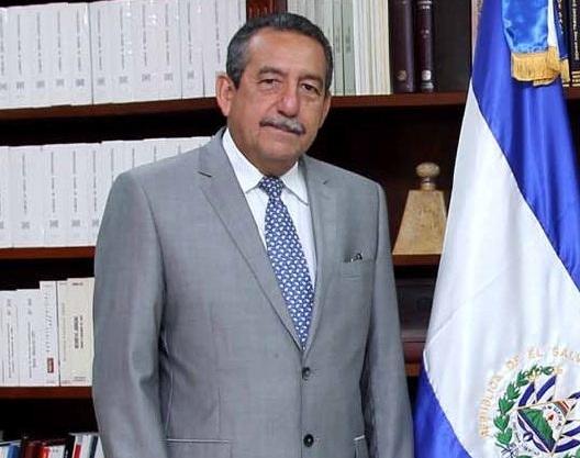 Florentín Meléndez, magistrado de la Sala de lo Constitucional