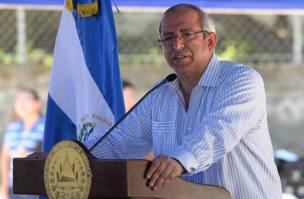 Expresidente de la Asamblea Legislativa, Sigfrido Reyes.