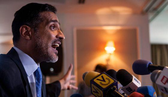 Juan Carlos Gutiérrez, abogado defensor de López. / M. GUTIERREZ (EFE)