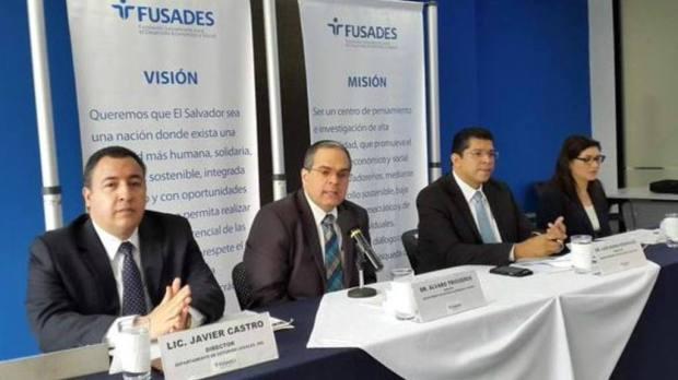 Fusades habló sobre el presupuesto 2016. | Foto por EDH/ Juan José Morales
