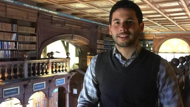 El salvadoreño Guillermo Miranda Cuestas estudia una Maestría en Políticas Públicas en la Universidad de Oxford, en Reino Unido.