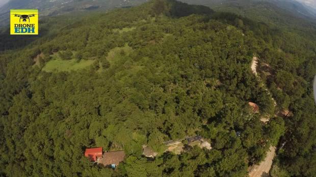 Vista panorámica del terreno en La Palma que fue inscrito en julio de este año. | Foto por Drone EDH
