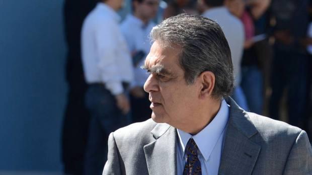 David Gutierrez ex-ministro de Obras Publicas en la administración Saca