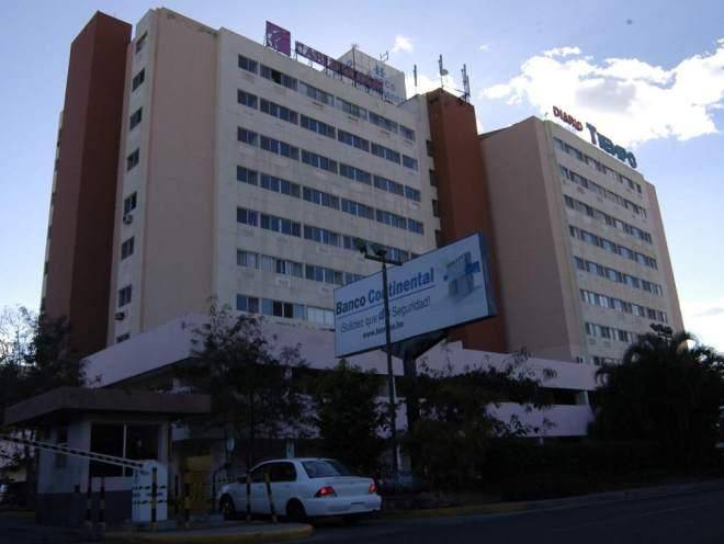 Sede de Banco Continental en Tegucigalpa, capital de Honduras.