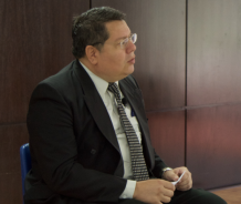Mario González, editor subjefe de EDH