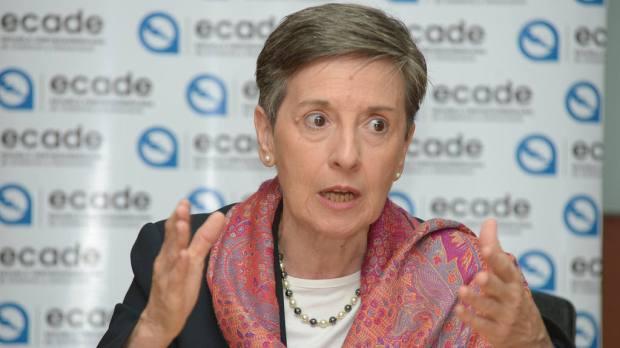 La especialista argentina y miembro de Transparencia Internacional, Delia Ferreira, recalcó que para combatir la corrupción es necesario tener instituciones fuertes y buenas leyes de acceso a la información pública