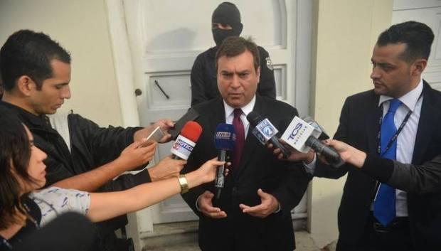 José Arístides Perla, abogado que representa a LPG.
