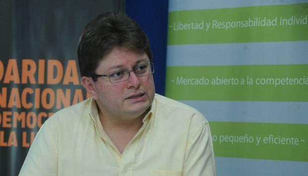 Mauricio Alarcon, director de Fundamedios de Ecuador Foto edh por Lissette Monterrosa