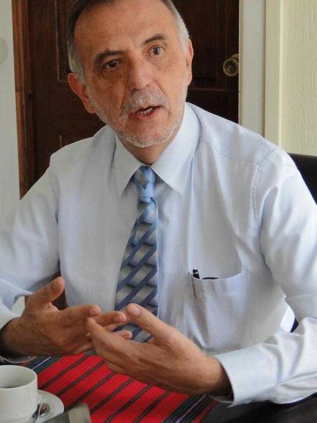 Iván Velásquez, titular de la Comisión Internacional contra la Impunidad en Guatemala (CICIG) cuyo mandato comenzó en septiembre de 2013. Velásquez terminará su trabajo en septiembre de 2017. Foto: cortesía de CICIG.