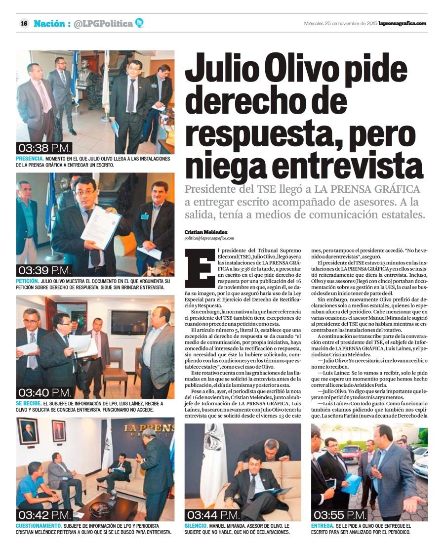 LPG20151125 - La Prensa Gráfica - PORTADA - pag 16