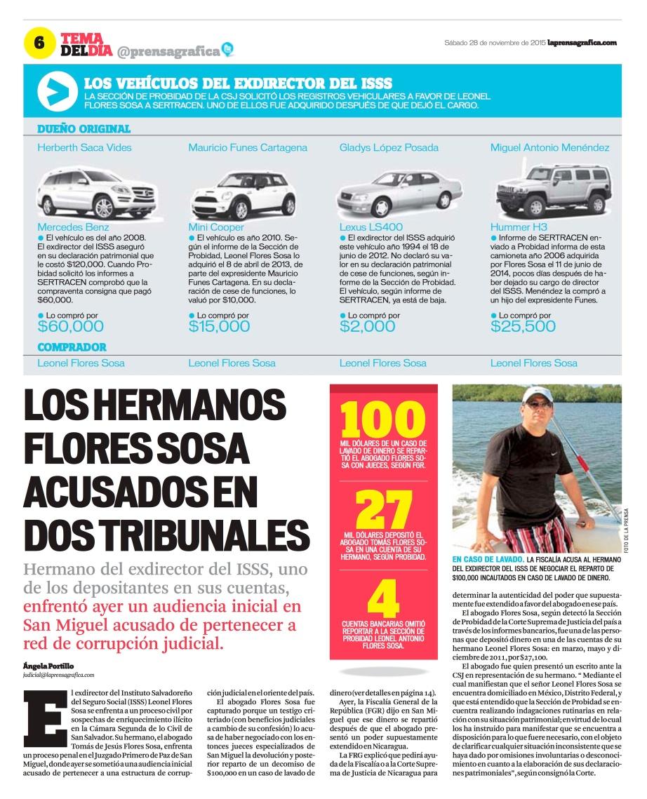 LPG20151128 - La Prensa Gráfica - PORTADA - pag 6