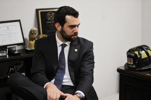 Johnny Wright Sol, diputado de San Salvador por Arena. Foto: Emely Navarro.