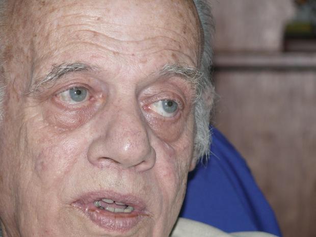 Alberto Müller Rojas, en enero 2018 en Caracas.. Foto: Paolo Luers