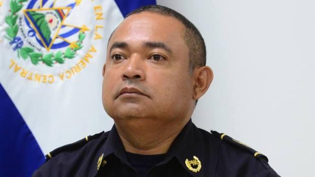 Mauricio Ramírez Landaverde, hasta viernes 22 de enero 2016 director general de la PNC, ahora ministro de Justicia y Seguridad