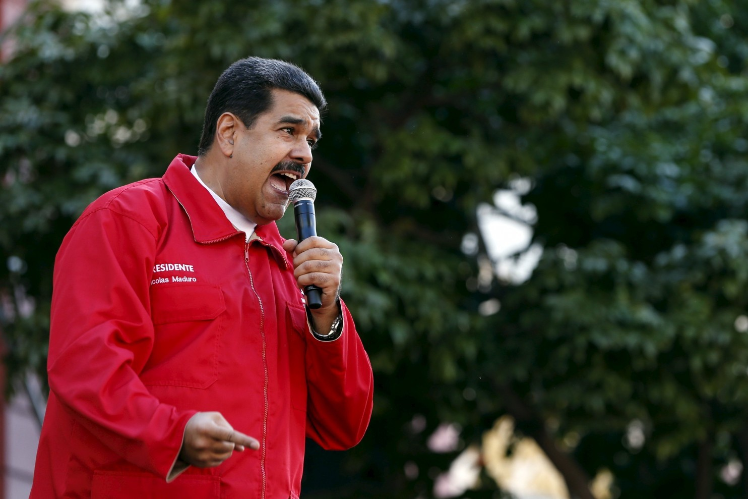 Venezuelan President Nicolás Maduro stripped the National Assembly of central bank control this month. (Carlos Garcia Rawlins/Reuters)