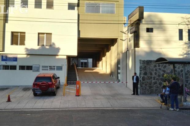 El Hospital de la Mujer en colonia Escalón, donde se encuentra internado Francisco Flores