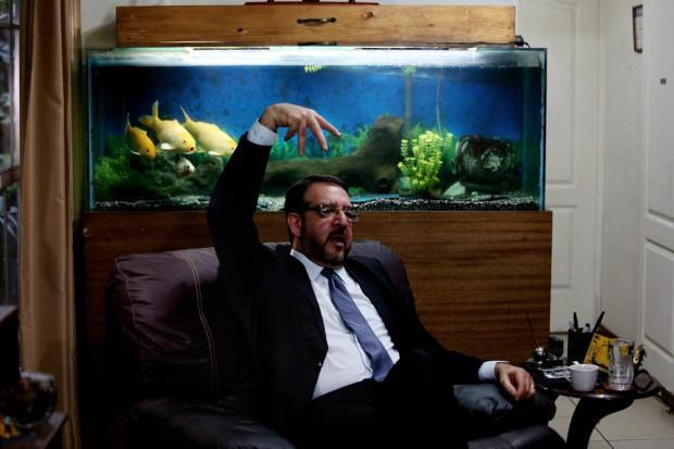 José Miguel Fortín Magaña, director del Instituto de Medicina Legal entre noviembre de 2010 y diciembre de 2015. Foto Fred Ramos.