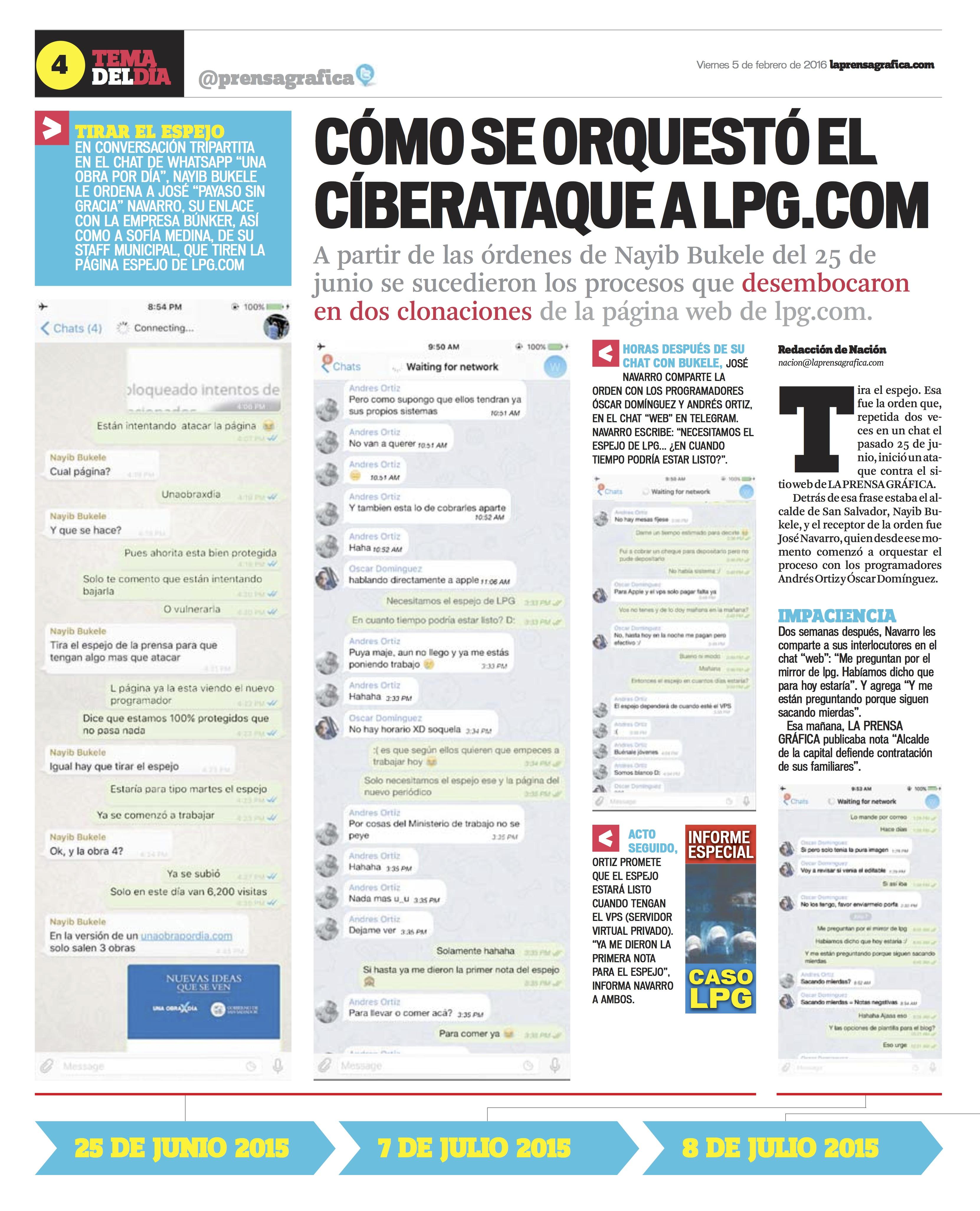 Prensa Gráfica | Segunda Vuelta