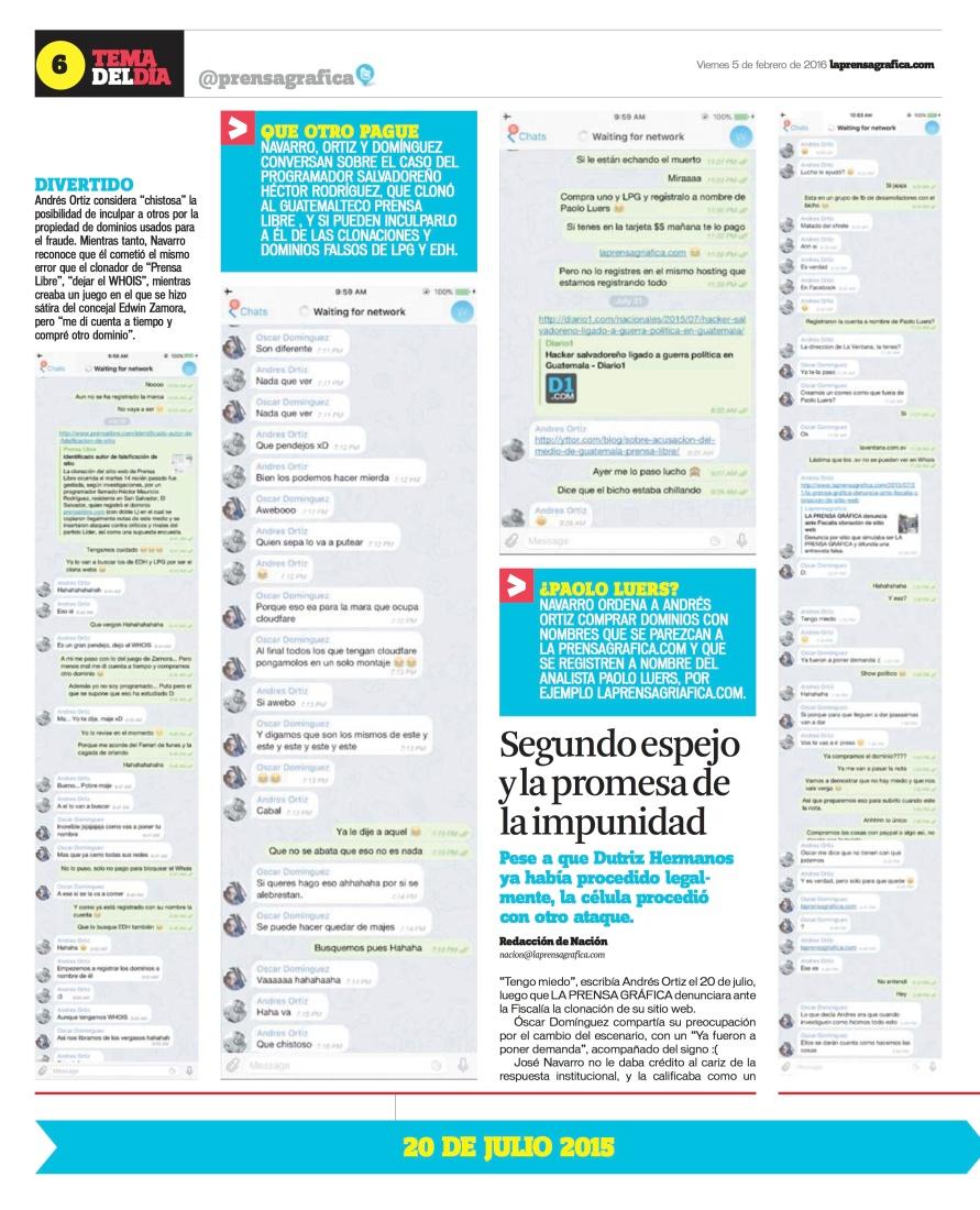 LPG20160205b - La Prensa Gráfica - PORTADA - pag 6
