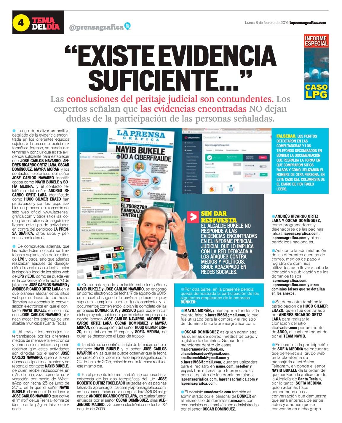 LPG20160208 - La Prensa Gráfica - PORTADA - pag 16