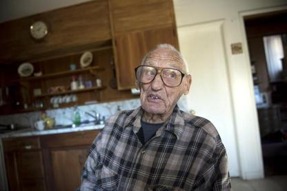 Delmer Berg, el último sobreviviente de la Brigada Lincoln que comabtío en la guerra civi española