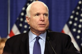 "Sen. John McCain, R-Ariz., called the 800-page immigration reform bill proposed by a bipartisan group of senators a ""fair, comprehensive and practical solution"" to a difficult problem."