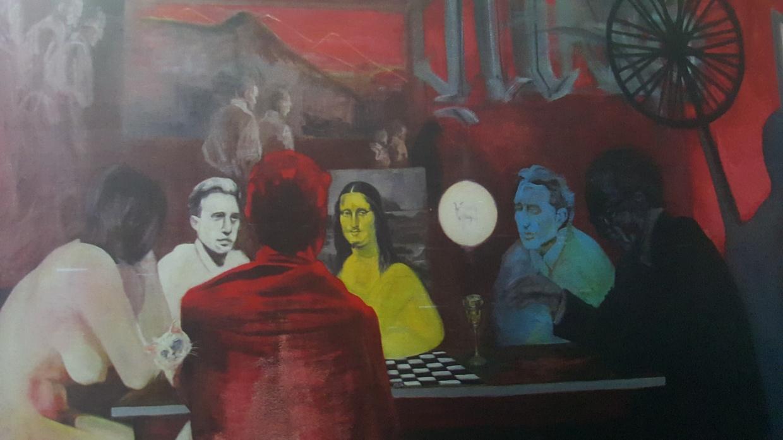 """Mayra Barraza: La última Cena: """"Duchamp"""" en El Salvador"""