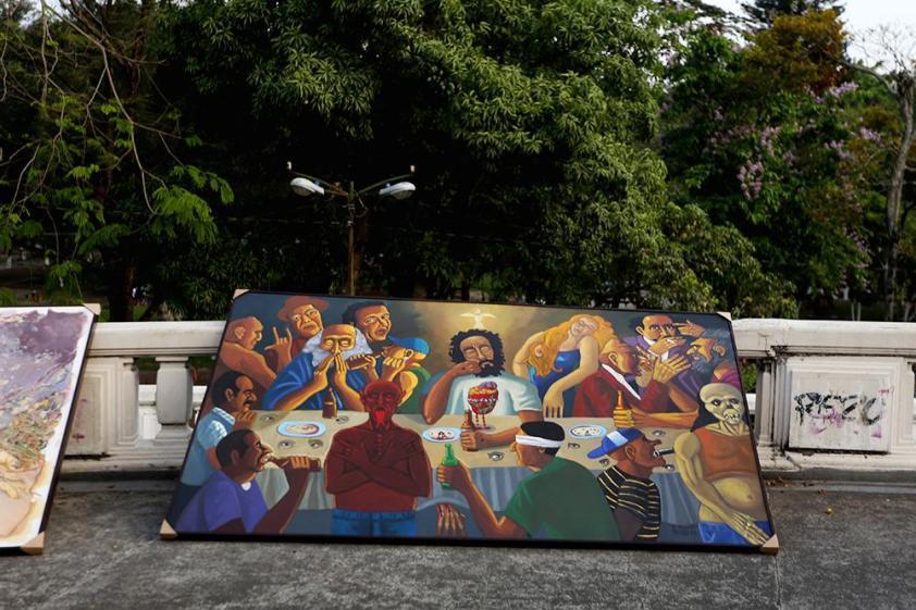 La expo va al exilio: a la calle