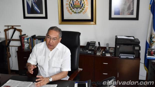 David López Villafuerte, presidente de la CEL. | Foto por EDH