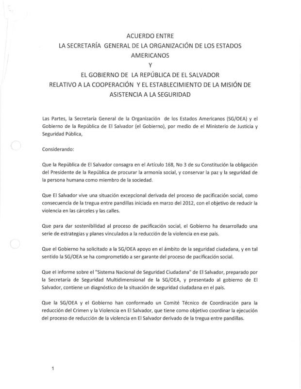 Acuerdo OEA-El Salv1